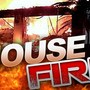Dog alerts family to house fire