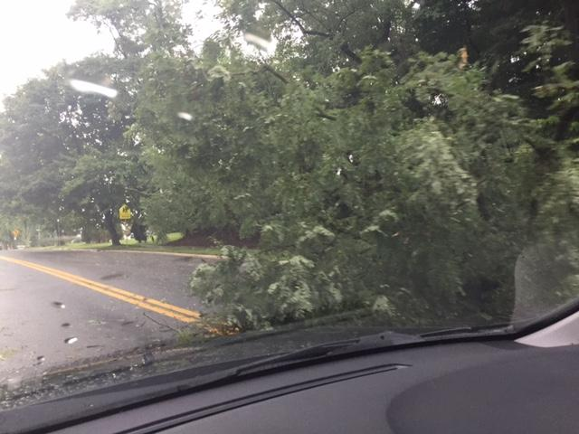 Padonia Rd at Dulaney Valley HS