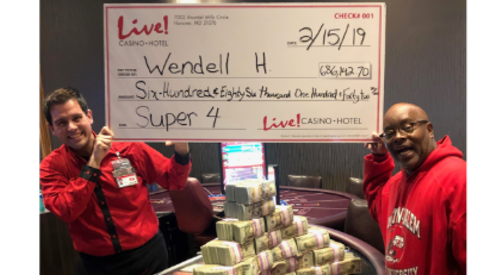 Bowie Man Turns 5 Wager Into Over 686k In Winnings At Maryland
