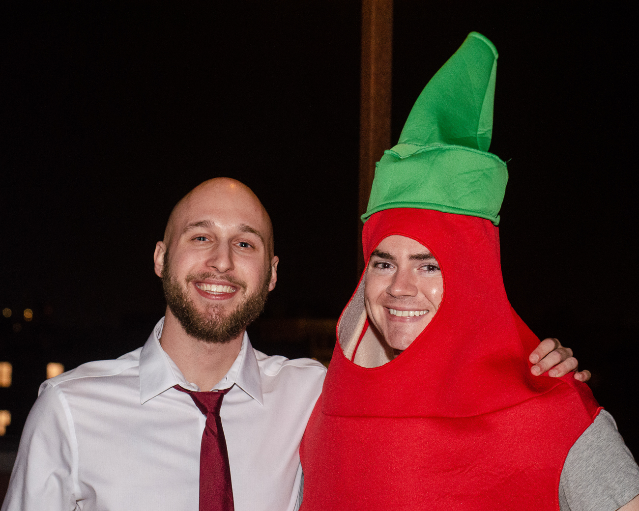 Garrett Souders as a Hitman and Dan Kurtis as Siracha / Image: Kellie Coleman // Published: 10.27.19