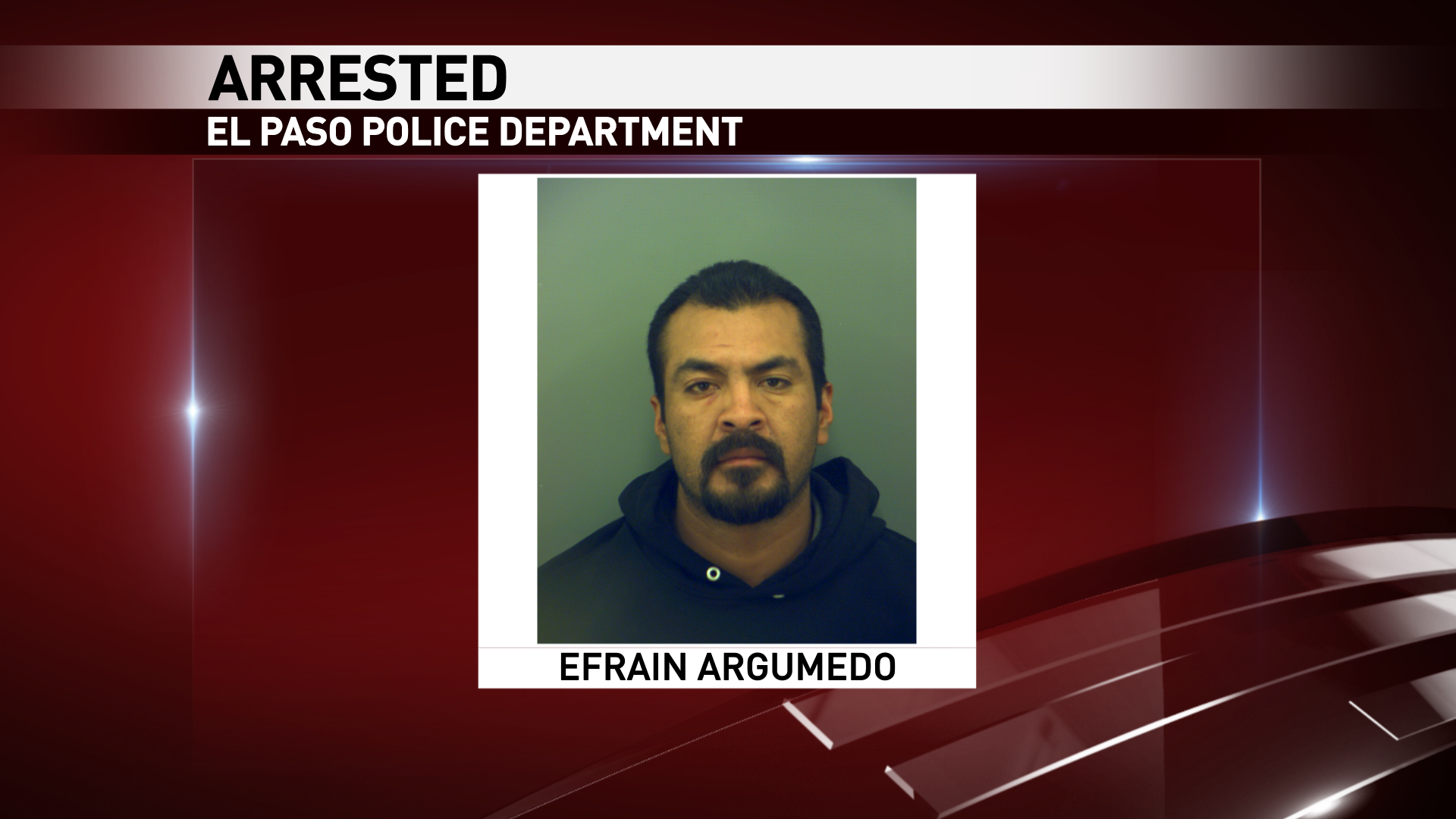 Mug shot of 35-year-old Efrain Argumedo. He is charged murder charge