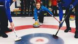 Cam Around Town: Cam tries curling