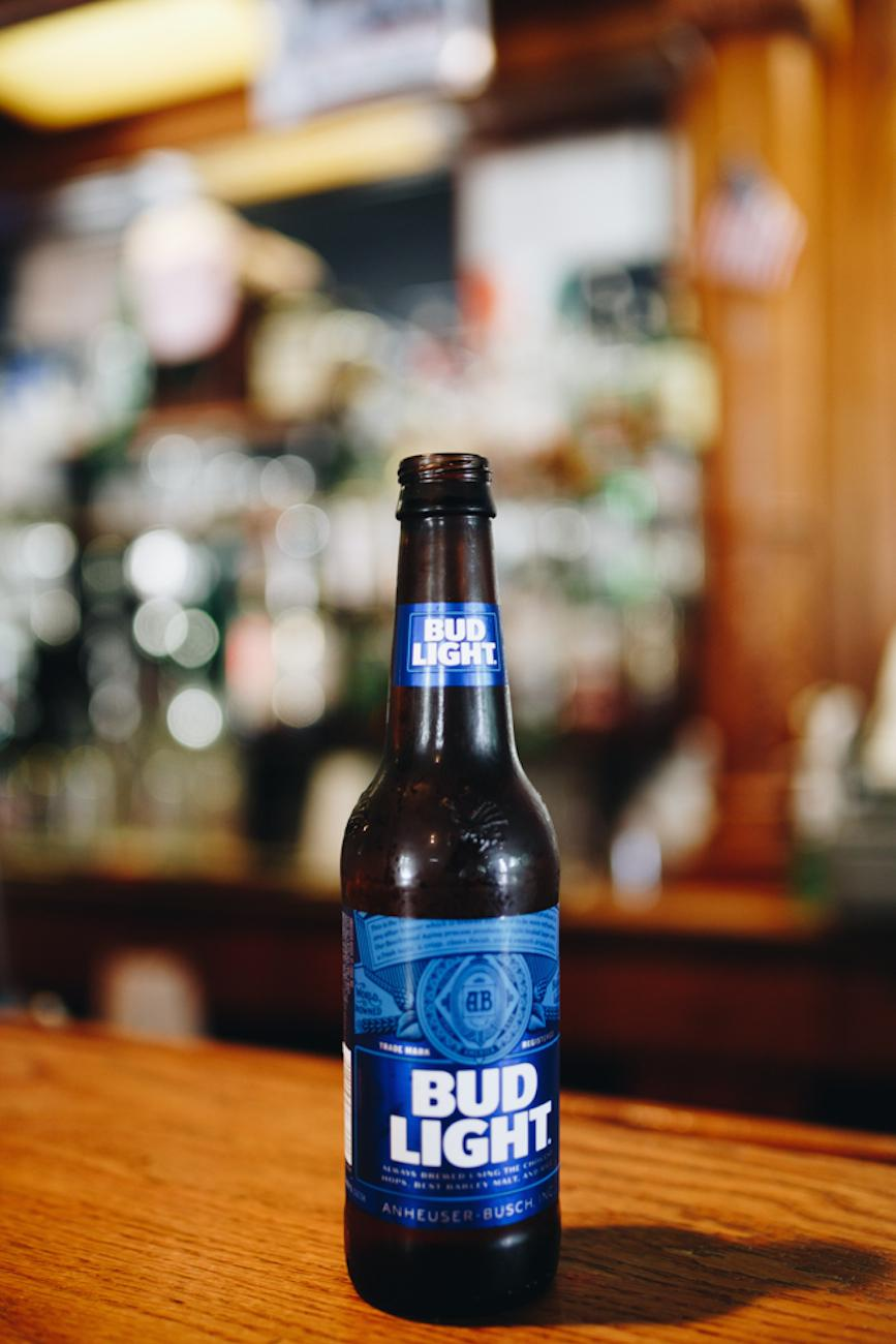 A cold bottle of Bud Light / Image: Catherine Viox // Published: 10.2.18