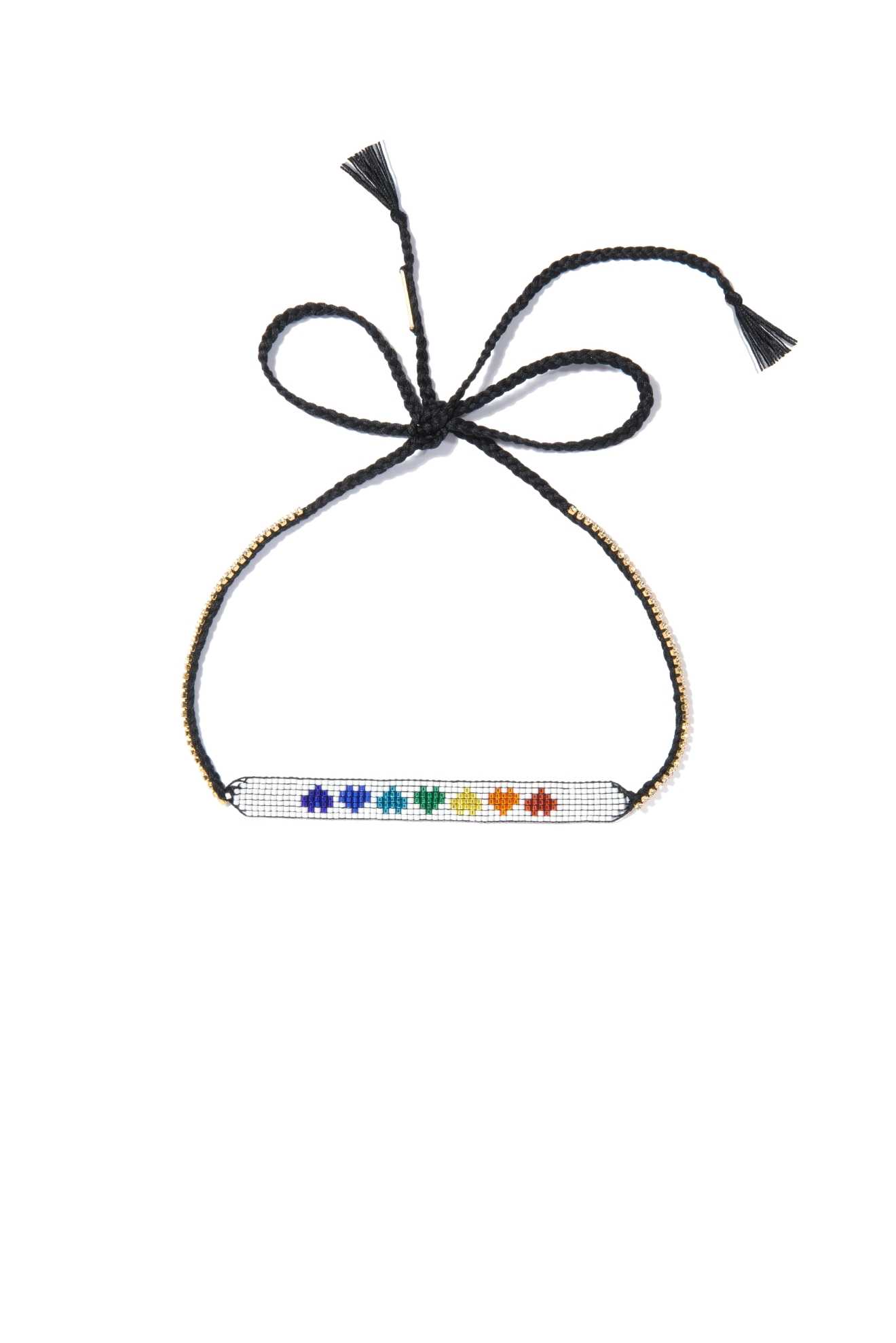 Venessa Arizaga Rainbow Hearts Necklace - $125. Buy at shop.nordstrom.com/c/pop-in-olivia-kim (Image: Nordstrom)