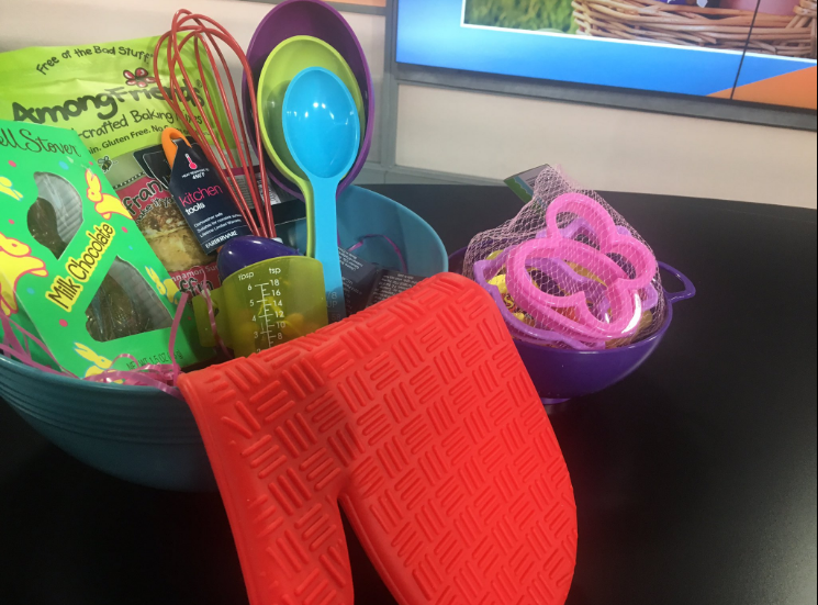 Dietitian Grace Derocha says get creative when it comes to making Easter baskets. Think less candy and more DIY crafts.