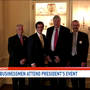 Local businessmen included in President Trump's small business meeting
