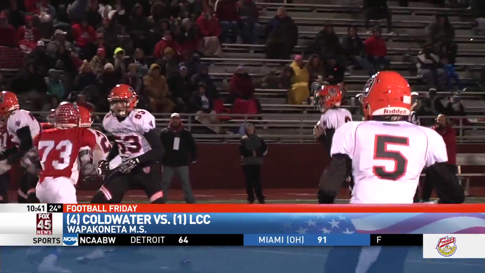Coldwater takes down Lima Central Catholic