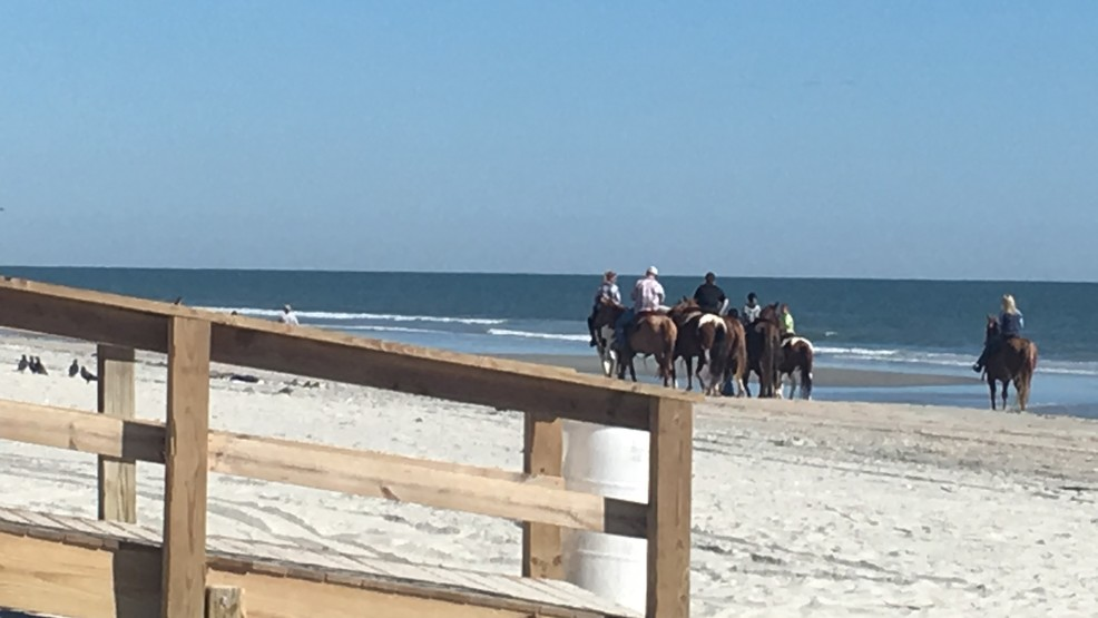 Horses head to the beach for annual american heart association youll see horses on the beach saturday for the american heart association beach ride amanda kinsethwpde sciox Choice Image