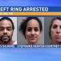 Arrests made in alleged theft ring in Wheeling