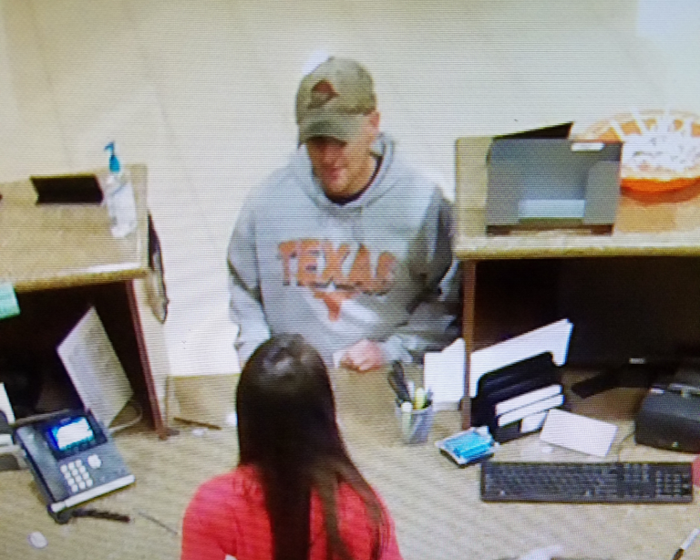 "The FBI Violent Crimes Task Force is asking for the public's help identifying a bank robber who has been dubbed the ""Longhorn Bandit."" (Photo: FBI)"