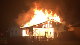 Kelso house a total loss after fire, officials suspect arson