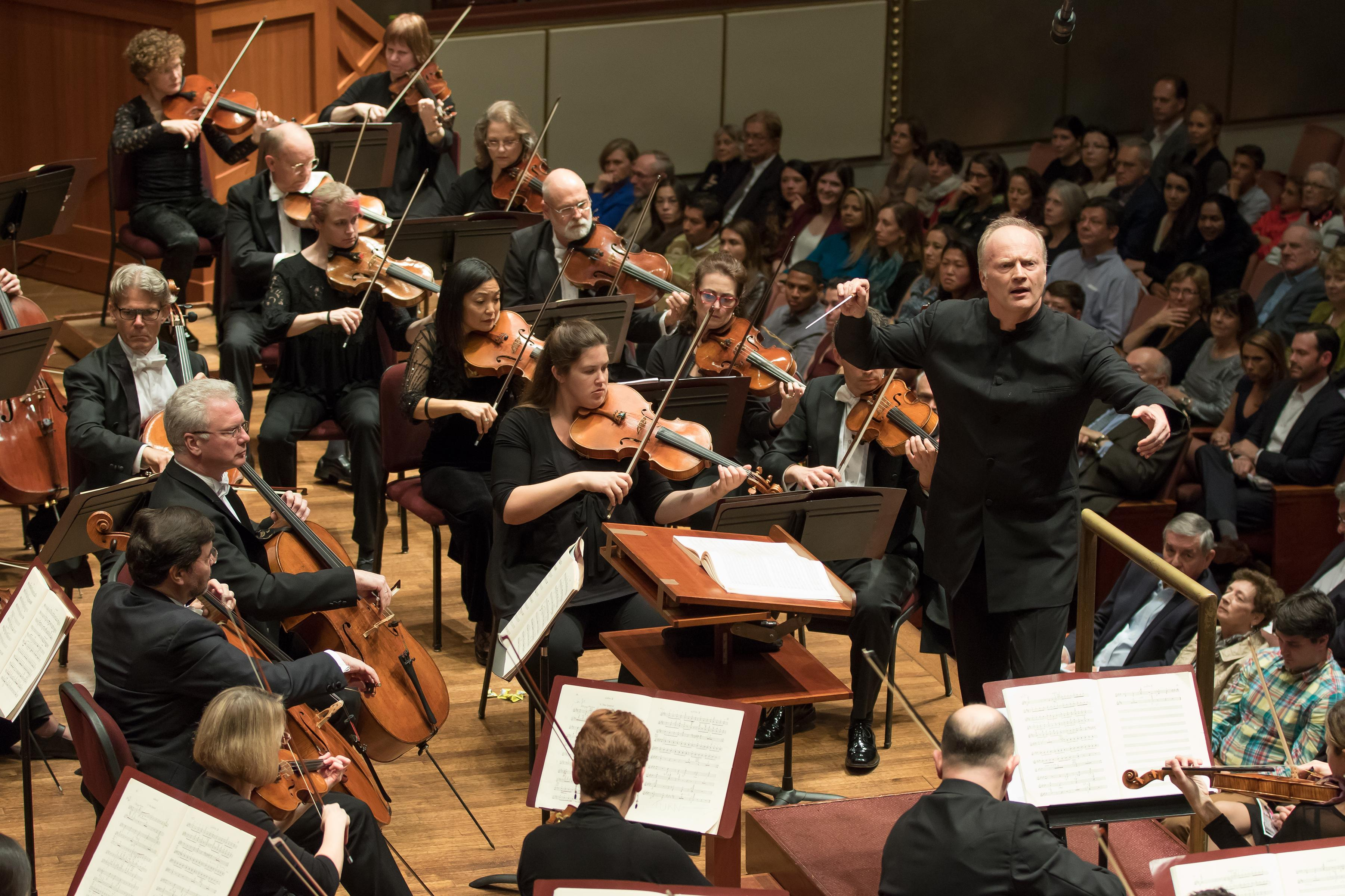 Music Director Gianandrea Noseda will lead the National Symphony Orchestra (NSO) in a free performance at the Anthem on November 15 at 7:30 p.m. This will mark the first orchestral performance at The Anthem, and is one of three community-oriented performances the NSO will give in 2017/2018, Noseda's inaugural season as music director. The free concerts are Noseda's attempt to deepen the connection between his orchestra and the community while also furthering D.C.'s interest in orchestra music in general. (Image: Scott Suchman)<p></p>