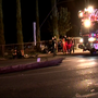 Father, 9-year-old in critical condition after car slams into pole