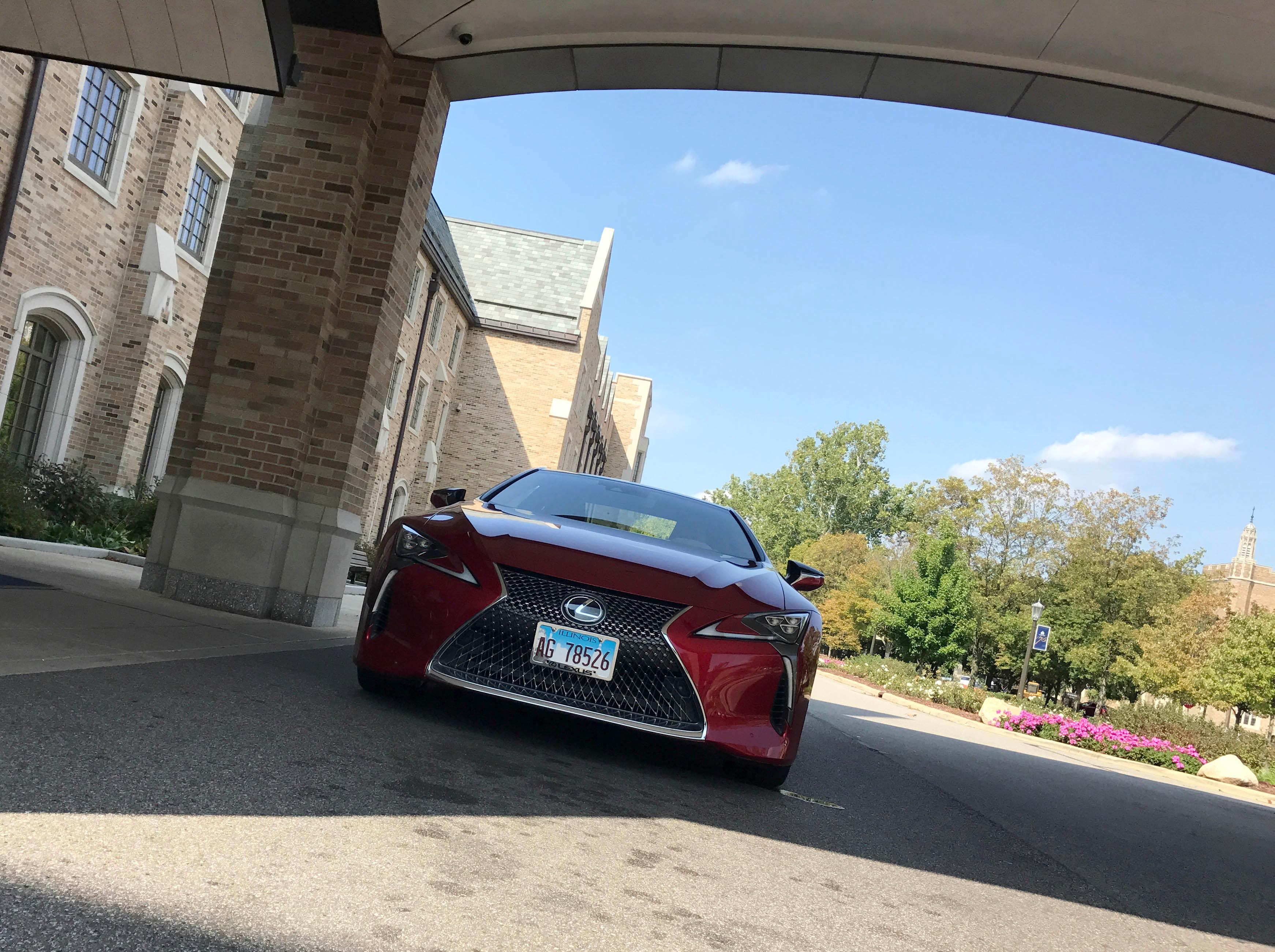 2018 Lexus Lc 500 The Car That Wasn T Supposed To Exist Ktvo