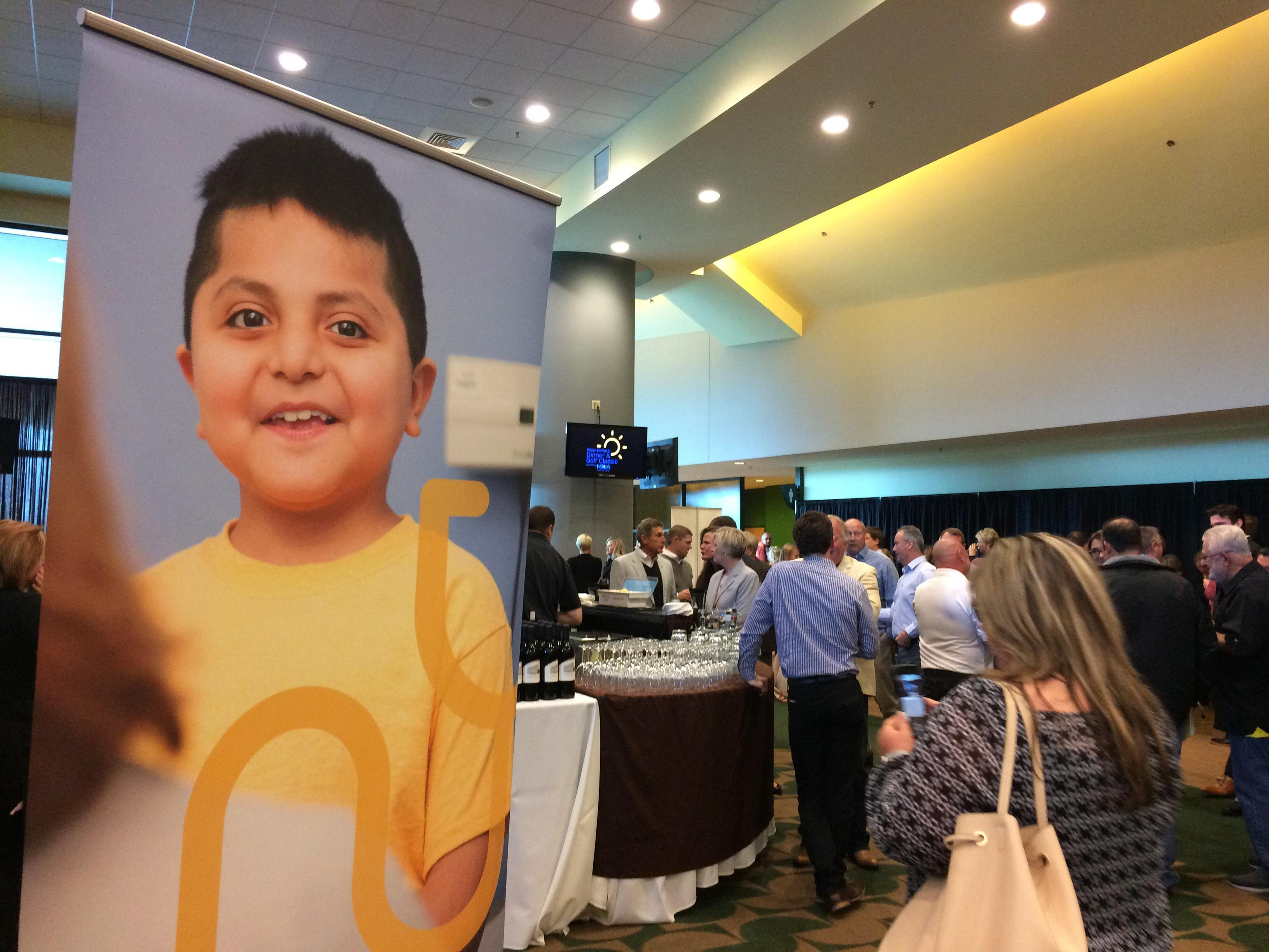 The 24th annual Mike Bellotti Dinner & Golf Classic helps children with muscular dystrophy go to summer camp.  Paying to send 80 kids to the summer camp can cost about $50,000.  The event Thursday raised $80,000. (SBG)