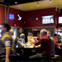 Fans pack into Saginaw Buffalo Wild Wings in Saginaw to catch NCAA Tournament games