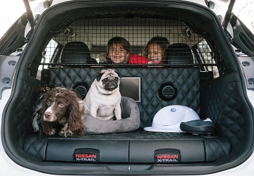 Pooch perfect: Nissan creates dog-friendly crossover concept