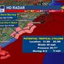 Tropical storm warning posted for part of North Carolina