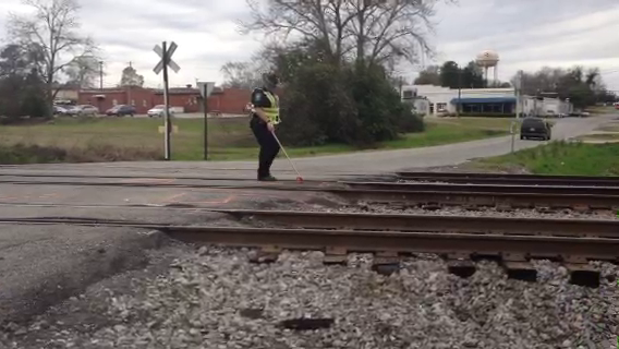 Cordele Police Department is still investigating the accident and clearing the roadway, but did determine that the train operator performed all required safety precautions.<br> / Colby Gallagher