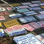 Police: Ohio man faces charges after stealing more than 500 signs