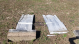 Milton cemetery headstones targeted by vandals for the second time