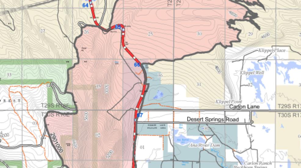 Lane Fire Map.Ana Fire Under Investigation For Arson Ktvl