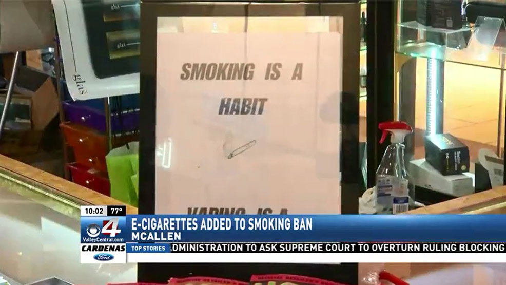 The American Medical Association supports regulation of e-cigarettes and adopted a new policy during June that recommends the same age restrictions as alcohol. (CBS 4 News)