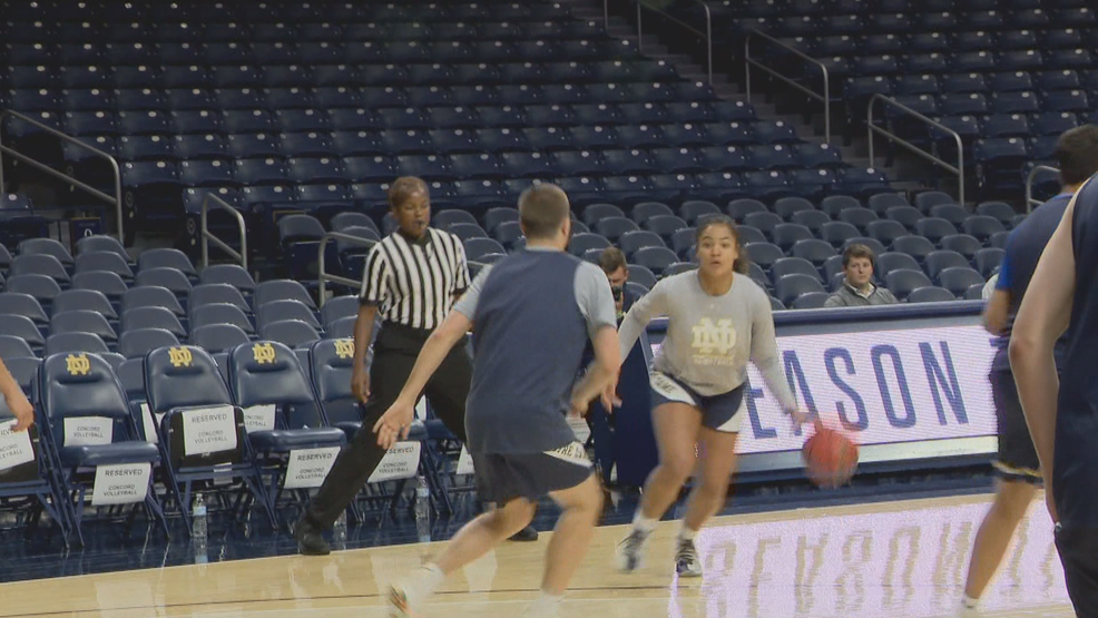 Notre Dame freshmen for the women's basketball team ready to step up