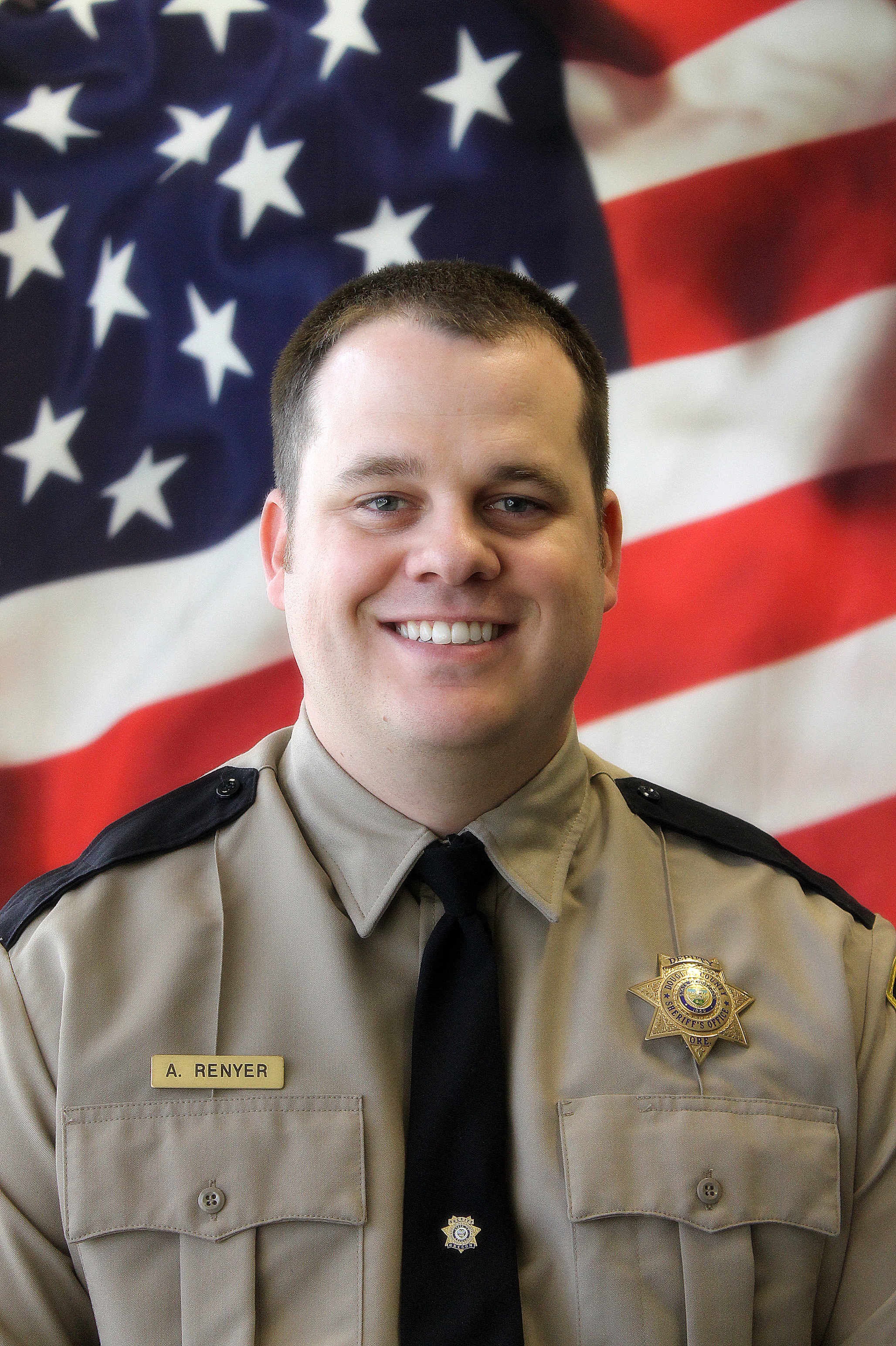 Senior Deputy Andrew Renyer was awarded the Jail Command Council's Deputy of the Year. (Photo courtesy Douglas County Sheriff's Office)<p></p>