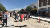 El Pasoans leave mark on final stretch of rail for the street car project