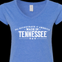 """The Soundtrack of America. Made in Tennessee"" merchandise now offered by TDTD"