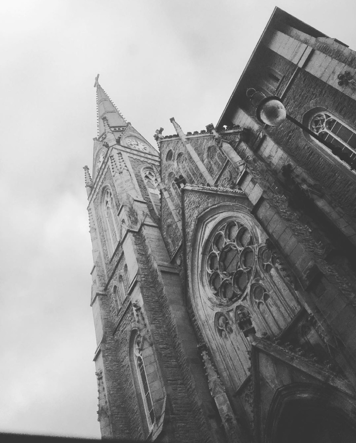 Image: IG user @babyshots_dpt / Post: Moody St. Francis DeSales from the other day. // Published: 12.17.16