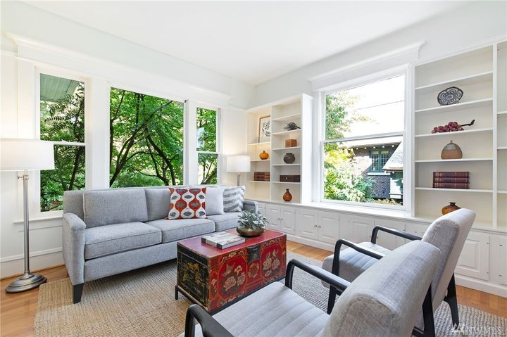 "Sitting on{&nbsp;}Capitol Hill's Millionaires Row, this{&nbsp;}4,779 square foot home is where the band{&nbsp;}It's a Beautiful Day wrote the 1969 song ""White Bird.""{&nbsp;}<a  href=""https://www.historylink.org/File/8942"" target=""_blank"" title=""https://www.historylink.org/File/8942"">Sources say</a>{&nbsp;}the song was written while the band temporarily stayed in Seattle during the winter of 1967 for a series of shows at the Encore Ballroom.{&nbsp;}The 5 bed/4 bath mansion is currently listed for $1.995 million by Nina Zerbo of Windermere Real Estate, and features a grand front porch, high ceilings, incredible master suite and is right across the street from Volunteer Park. More info can be found{&nbsp;}<a  href=""https://www.historylink.org/File/8942"" target=""_blank"" title=""https://www.historylink.org/File/8942"">online</a>. (Image: Nina Zerbo / Windermere Real Estate)"
