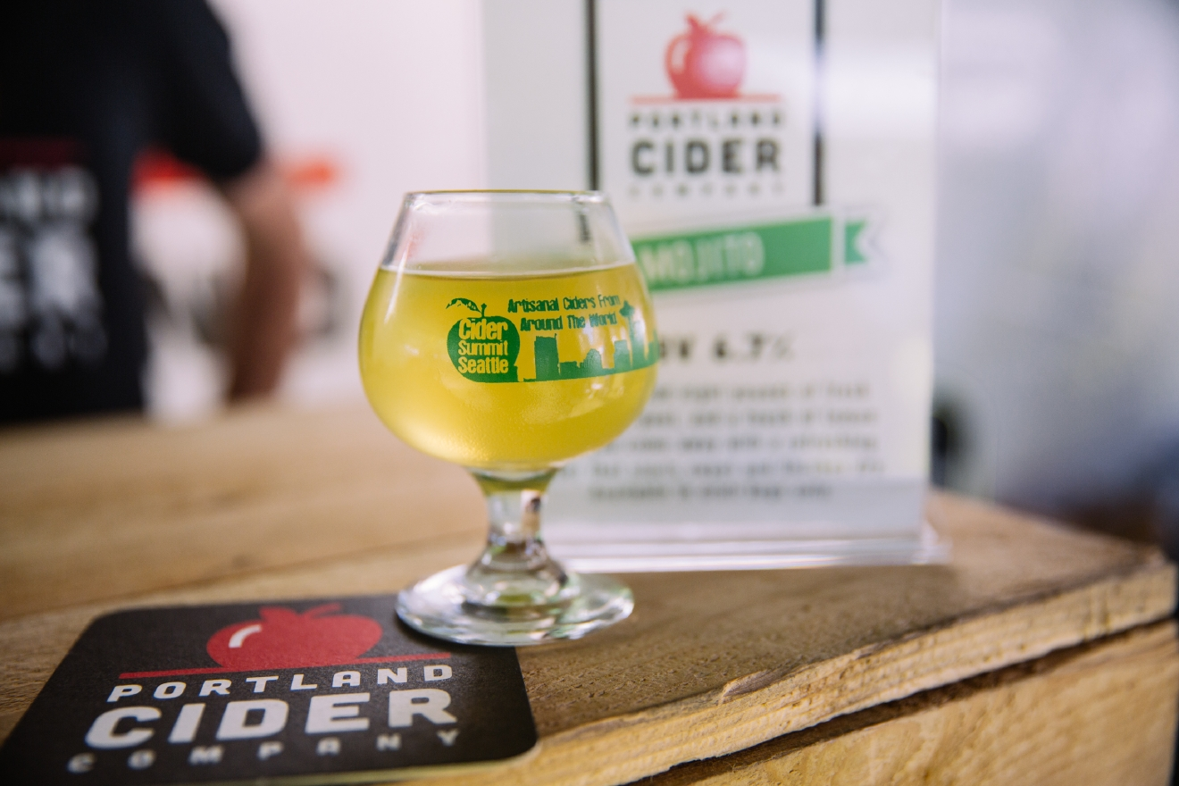 We love our friends in Portland for their quirkiness, donuts AND this passion fruit cider. I couldn't for the life of you tell you what exactly it tastes like, so I'll leave it vague: passion-y and fruity. You're welcome! (Image: Joshua Lewis / Seattle Refined)