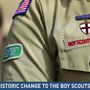 Boys Scouts of America announce a historic change