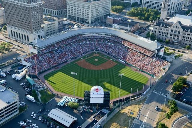 Home of the Buffalo Bisons, Class AAA affiliate of the Toronto Blue Jays, Coca-Cola Field in Buffalo was the impetus for Camden Yards in Baltimore.