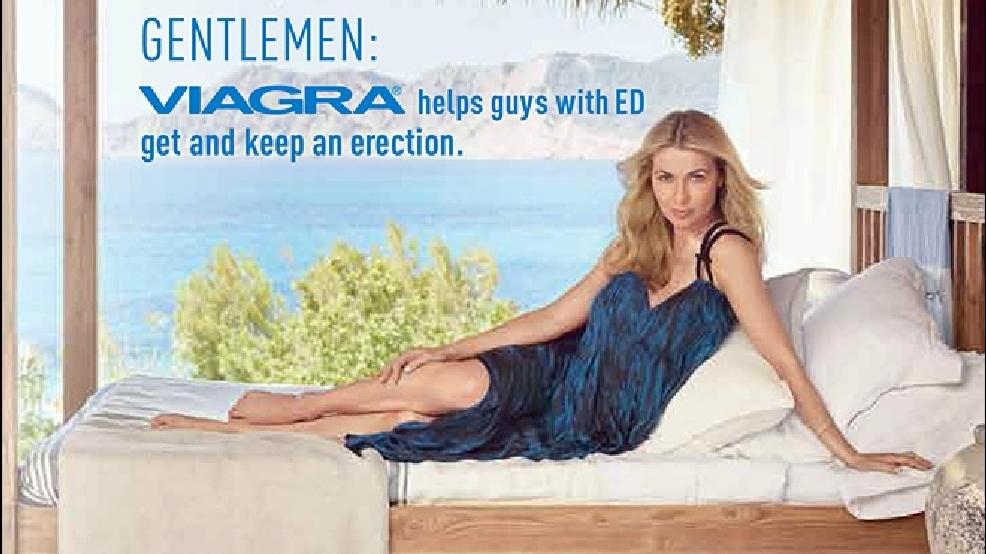 Viagra advertisements in magazines