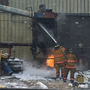 Fire quickly contained in dust collection system at Hartford business