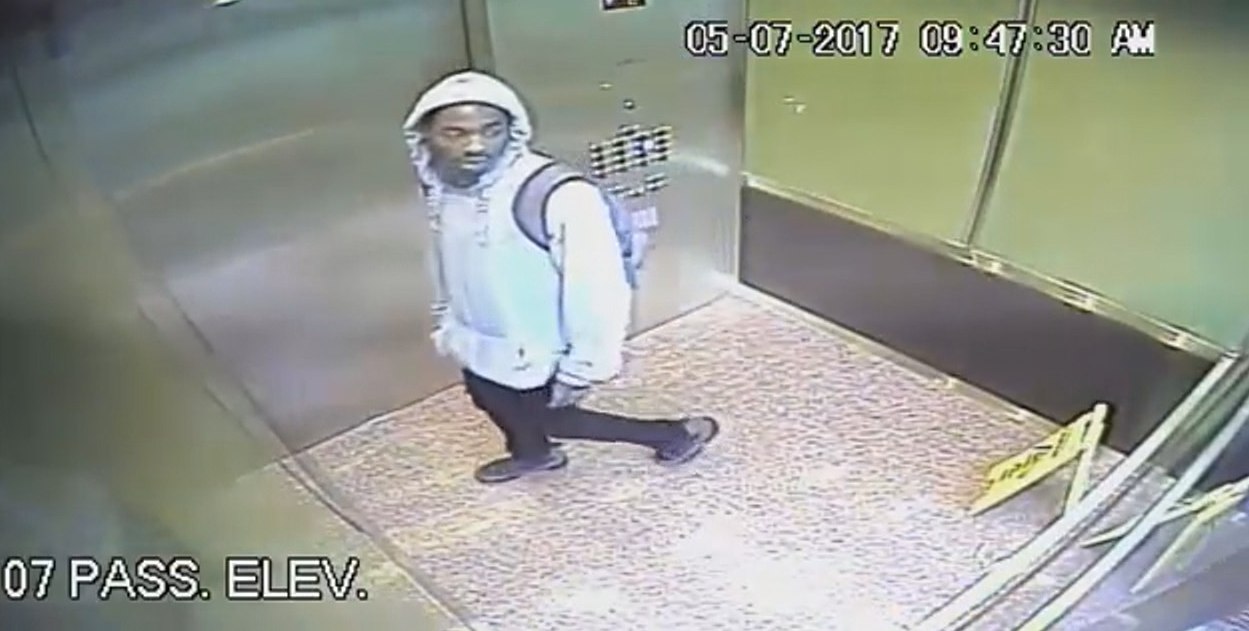 Man wanted for sex assault at apartment building in Arlington, Va.  (Arlington County Police photo from May 7)