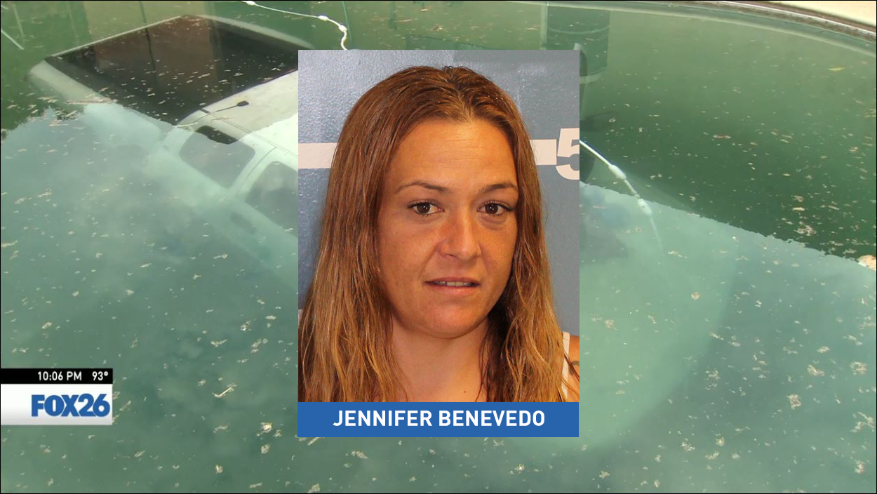 38-year-old Jennifer Benevedo turned herself into Visalia police around 7:00 p.m. on Tuesday.