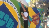 Teens paint new mural in Whiteaker neighborhood