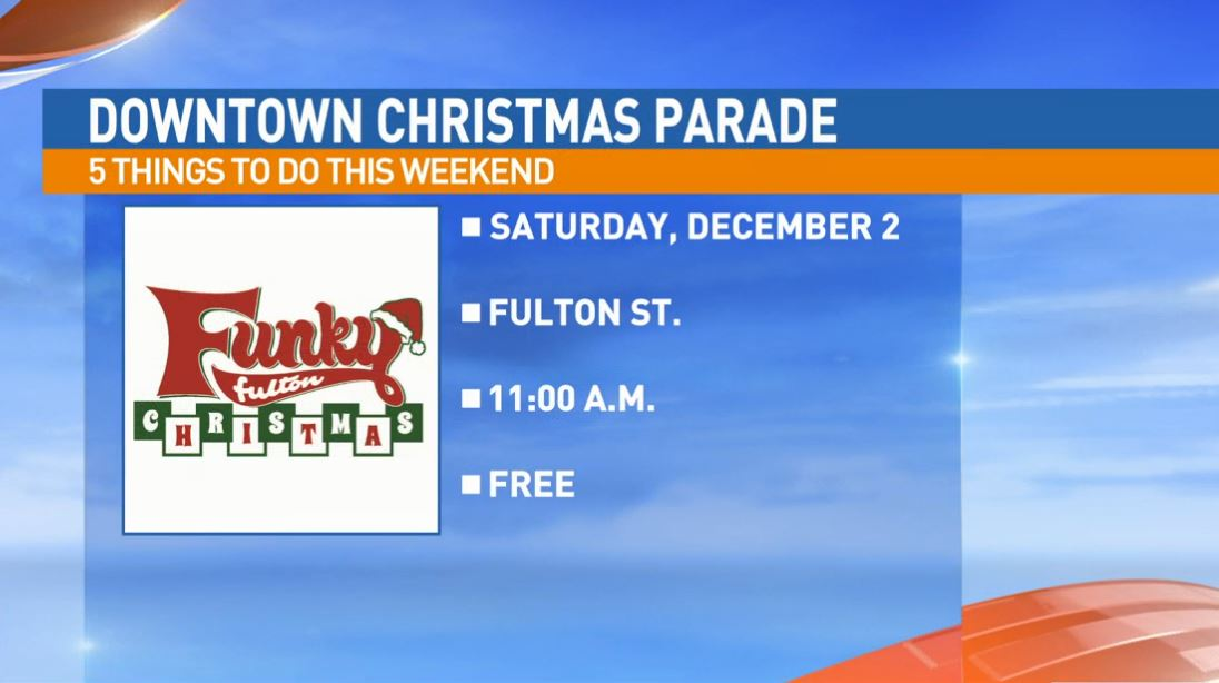 Downtown Fresno Christmas Parade Saturday on Fulton Street