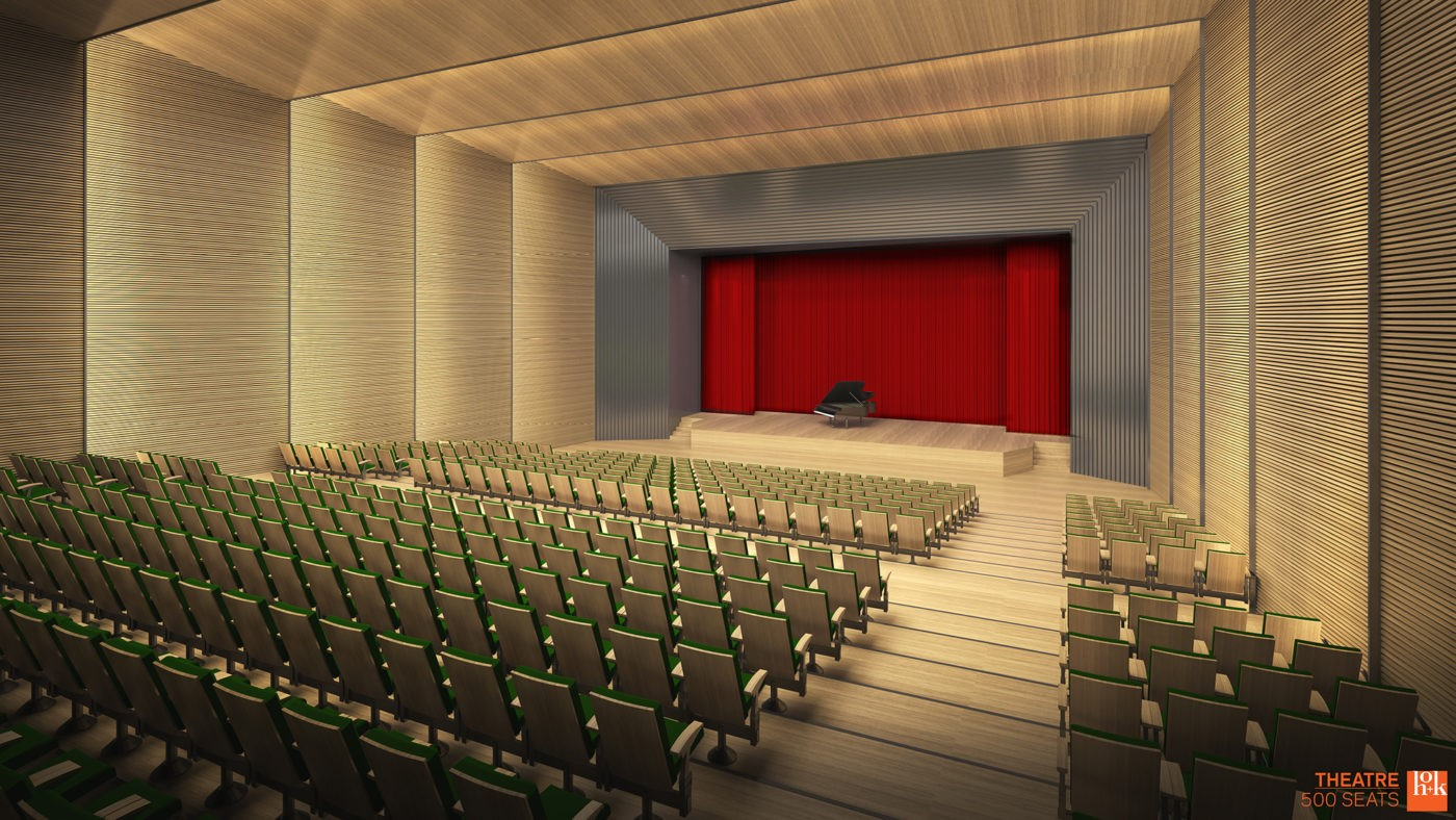 The proposed Seattle Center Music Theater. (Photo courtesy Sonics Arena group)