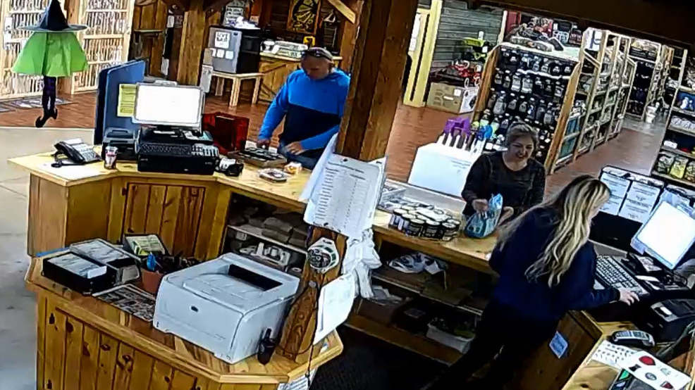 Theft Caught On Camera At Henrietta CountryMax Store