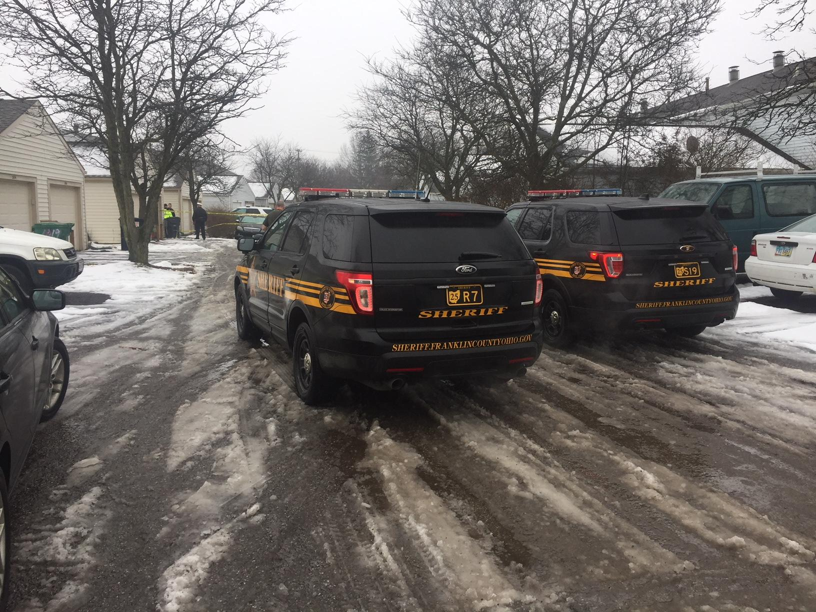 The scene where two Westerville officers were killed in the line of duty on Saturday, February 10, 2018. (WSYX/WTTE)<p></p>