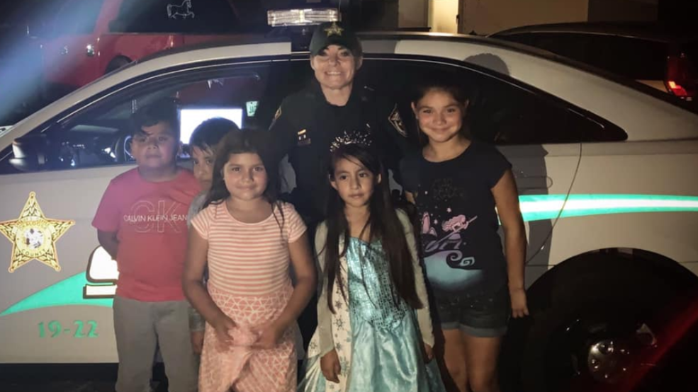 COPS CALLED ON GIRLS PARTY (Okaloosa County Sheriff's Office).PNG
