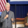 President Bill Clinton speaks in Logan County ahead of Hillary's WV visit