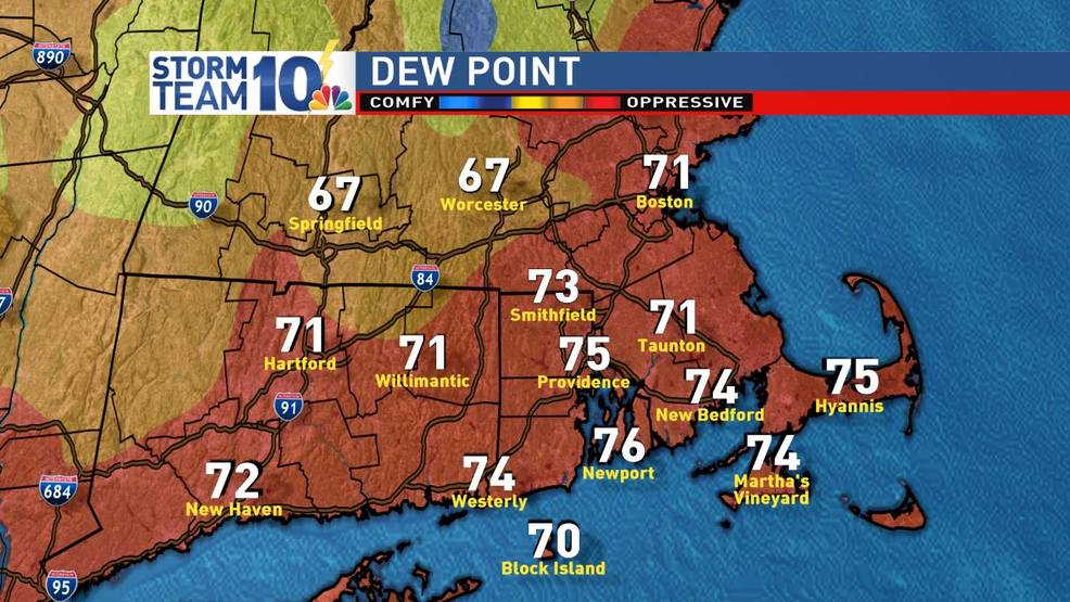 StormTeam10: Record setting humidity