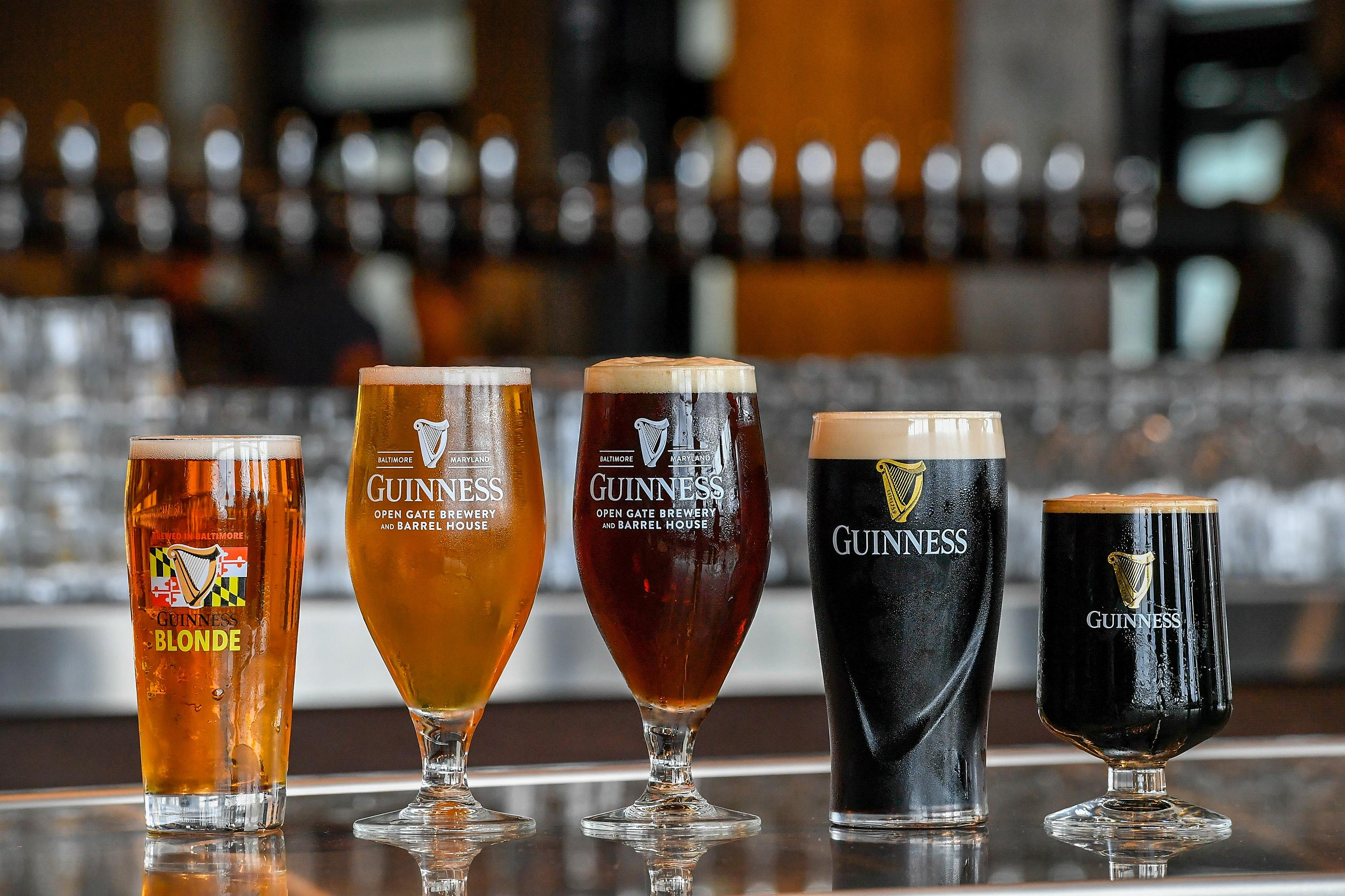 The Guinness Open Gate Brewery & Barrel House opened this summer just south of Baltimore. (Image: Larry French/Getty Images for Guinness){ }