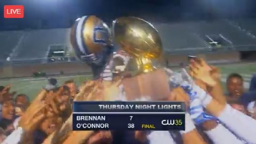 TNL Week 10: O'Connor beats Brennan 38-7, wins 1st district crown since '07